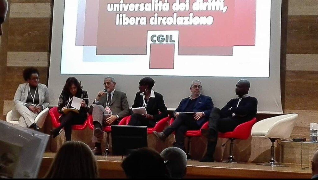 2017-12-12~13 Italy: National conference on the immigration of the CGIL