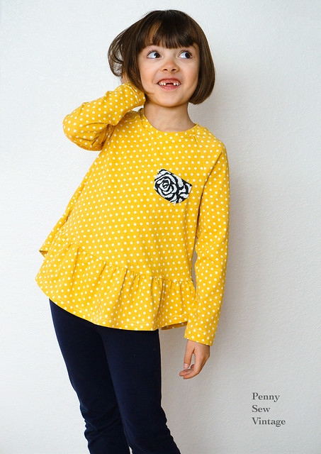 Girls' Waterfall Raglan