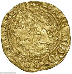 Richard III Gold Half Angel obverse