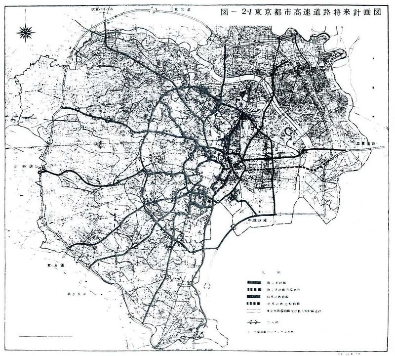 首都高速道路計画路線図