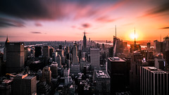 Top of the Rock - New York - Cityscape photography