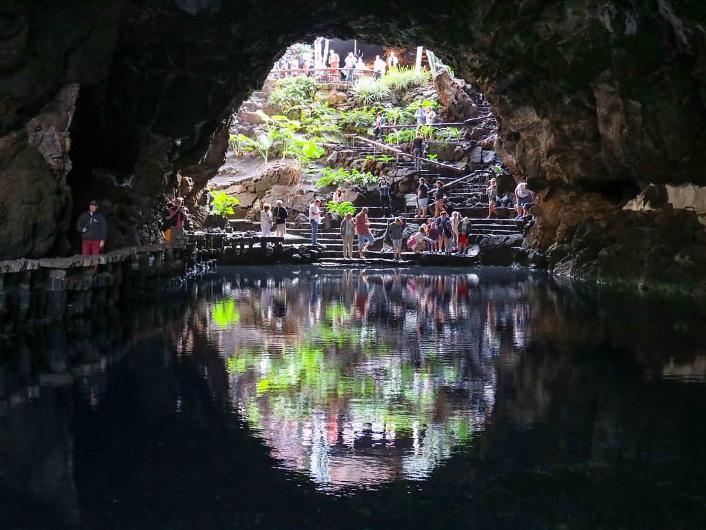 Visita Jameos del Agua, Lanzarote