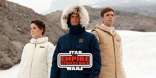 Columbia x Star Wars《星際大戰五部曲:帝國大反擊》回音基地防寒夾克、大衣 Echo Base Jacket、Parka 三種款式同步登場!!