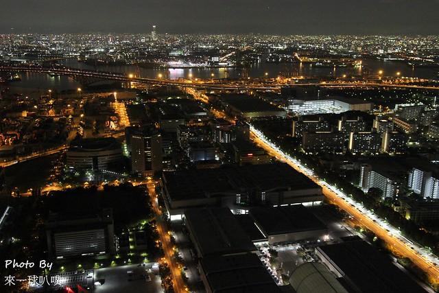 大阪府咲洲行政大樓展望台39