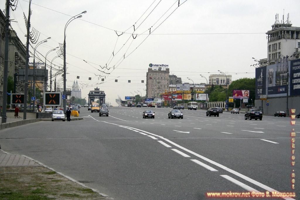 Кутузовский проспект.