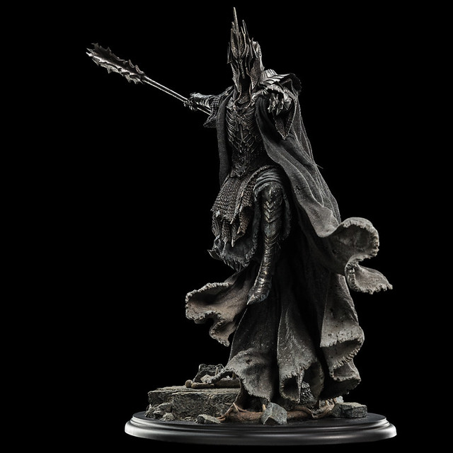 史上最嚇人的奴僕~WETA《哈比人:五軍之戰》在多爾多哥的戒靈 Ringwraith of Forod At Dol Guldur 1/6 比例全身雕像作品