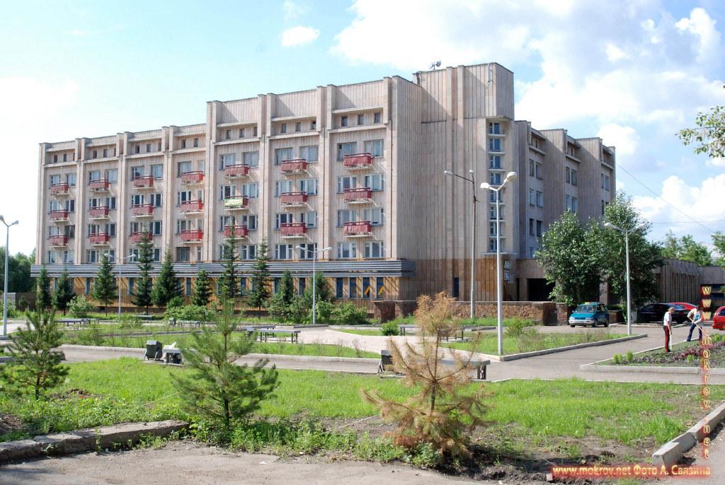 Город Щучинск - гостиница Турист