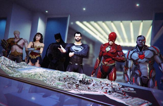 GTA 5 Superman Justice League Mod