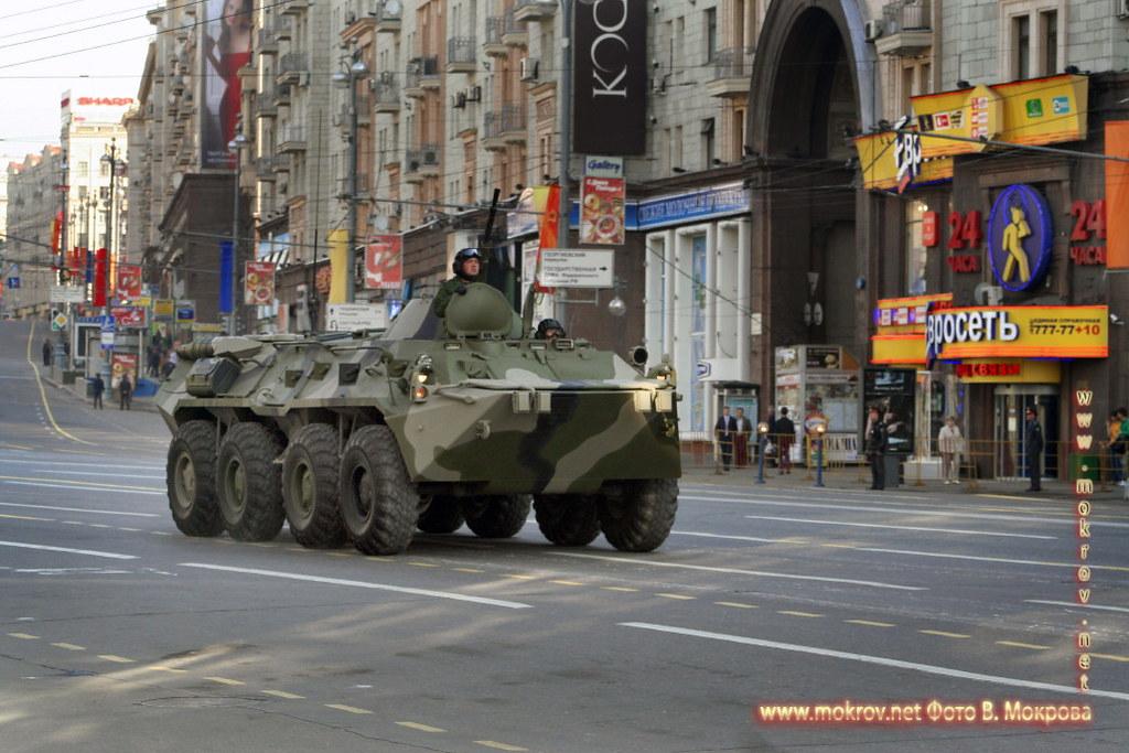 БТР-80 — советский бронетранспортёр.