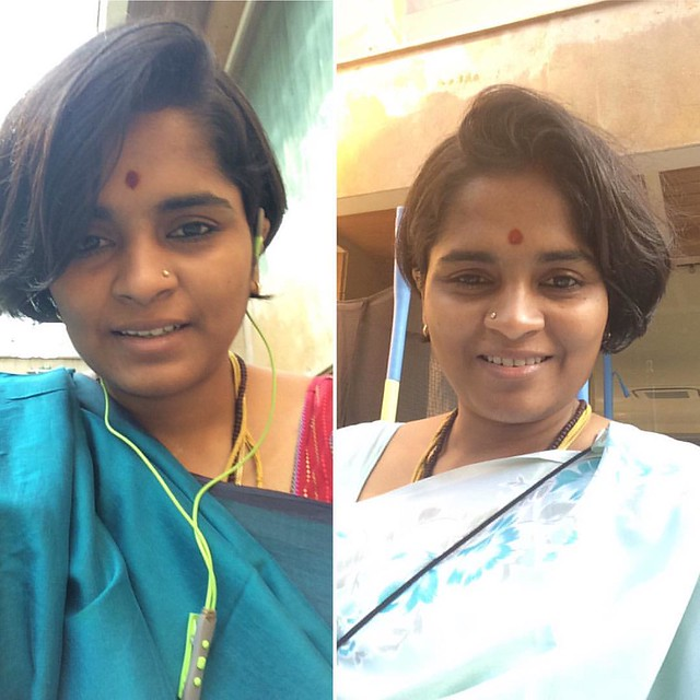 I have always wanted to wear sarees for work. Finally I decided few months back I will wear #saree for work as much as possible. It's been more than 2 months and I am enjoying wearing my #mom's sarees. I don't know how to take a full picture of myself in