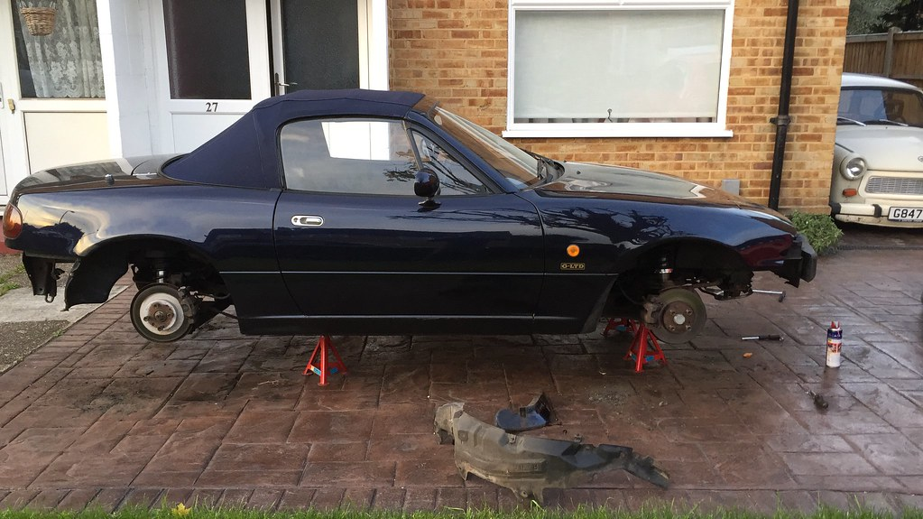 Mx5 Rocketeer V6 Conversion Project - Page 1 - Readers' Cars