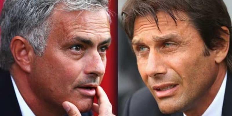 Jose Mourinho tidak berjabat tangan dengan Antonio Conte usai laga Chelsea lawan Manchester United