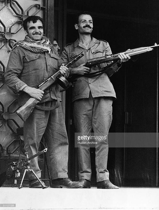 PPSh-41-Vz-52-rifle-Vz-52-mg-damascus-19731024-gty-1