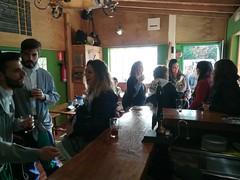 """""""zigorrak"""" de Basauri. De visita en Urduliz, en la fábrica de cerveza."""