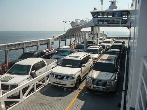 car ferry from Delmah Island