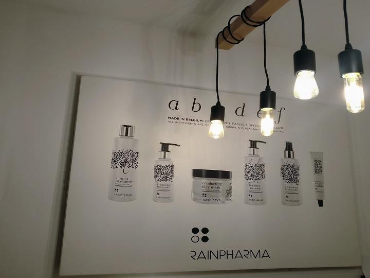RainPharma Workshop Alphabet Steps to Beautiful Face Skin