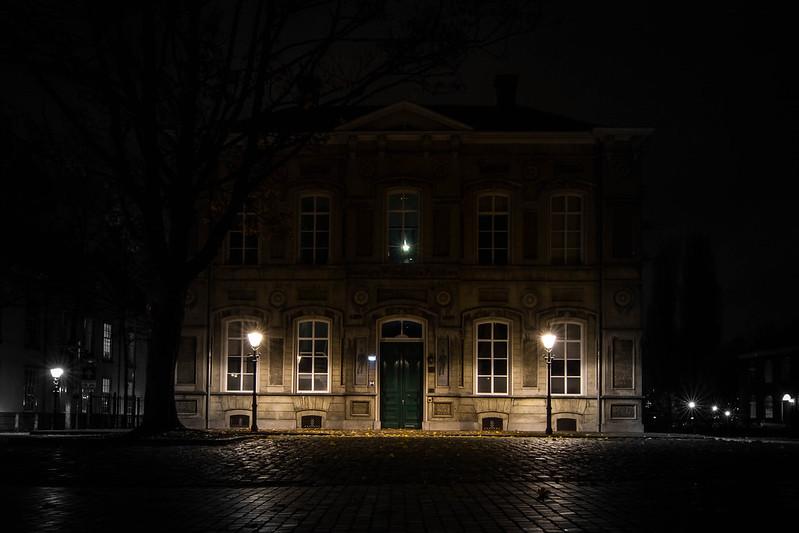 Breda bij nacht
