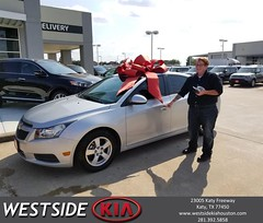 #HappyBirthday to Melissa from Jason Taylor at Westside Kia!