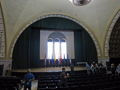 Hall at Bob Hope Patriotic Hall (4189)