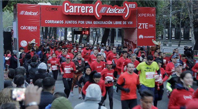 Carrera Telcel RED 2017