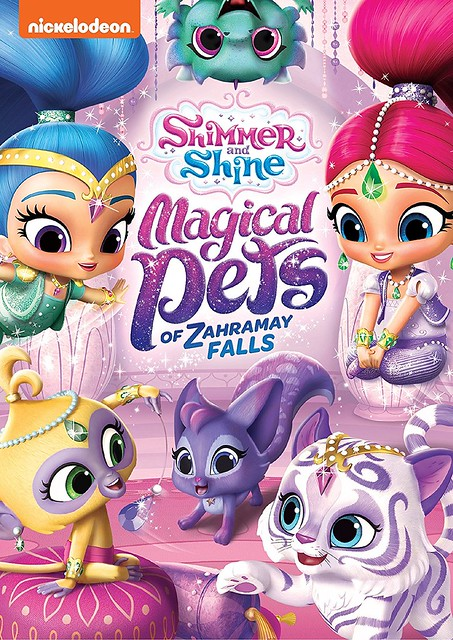 Shimmer and Shine- Magical Pets of Zahramay Falls Cover Art