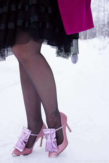 Goodie korkokengät Minna Parikka glitterkorkkarit