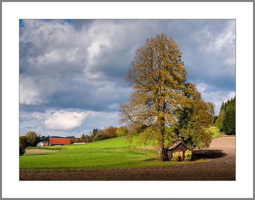 Bäuerliche Herbstlandschaft (Rural autumn landscape)