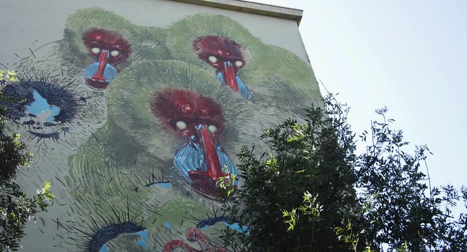 Street art in Bologna, fietsen in Bologna | Mooistestedentrips.nl