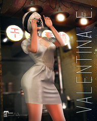 NEW! Valentina E. Little Black+ Dress @ FaMESHed!