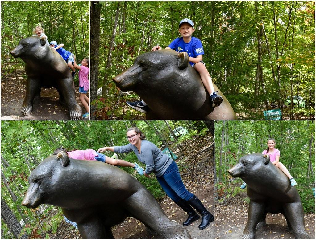 riding the bear