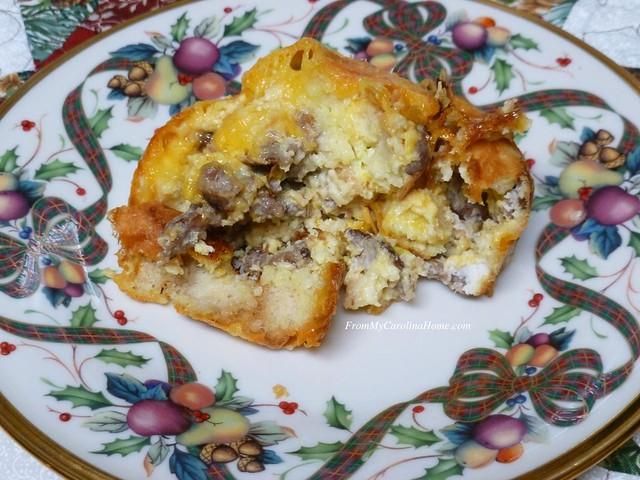 Baked Egg Breakfast at From My Carolina Home