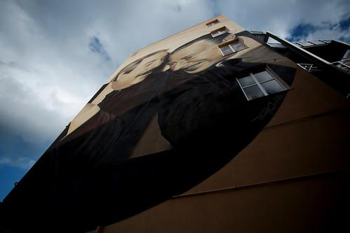 Murales Falcone - Borsellino