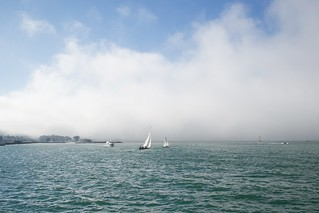 Golden Gate fog, wind from the ocean, sail boats DSC_0051 | by wbaiv