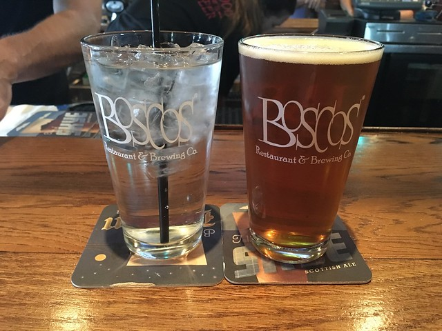 Boscos Golden Ale - Boscos Restaurant & Brewing Co.