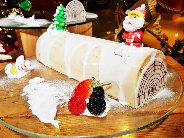 Cempedak Yule Log Cake