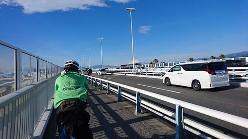 箱根駅伝でよく見る横風が強い橋
