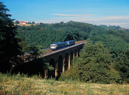 Der Viadukt von Solémy