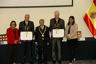 La Universidad San Ignacio de Loyola distinguió como profesores honorarios a dos importantes psicólogos contemporáneos, el pasado 6 de noviembre. Se trata del psicómetra de la Universidad de Oviedo (España), Dr. José Muñiz, y el decano de la Facultad de Educación de la Universidad de Oregón (EE. UU.), Ph.D. Randy Kamphaus.