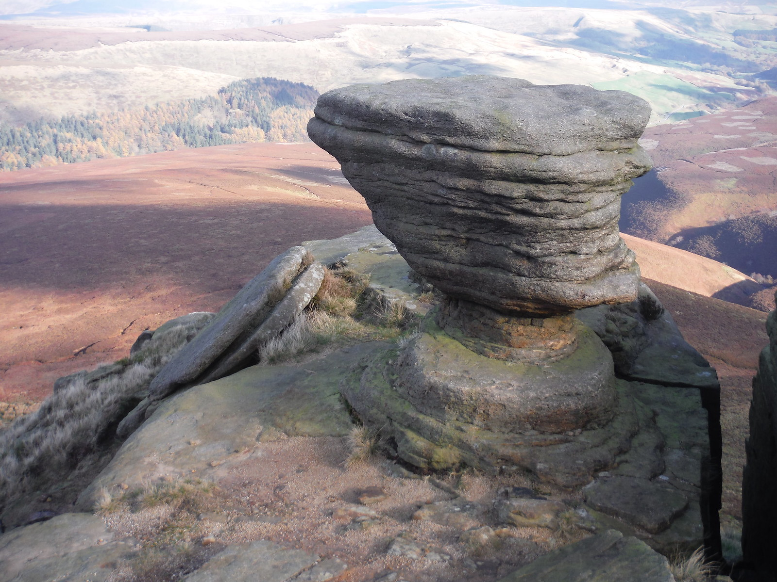 At Fairbrook Naze SWC Walk 304 - Kinder Scout Circuit (from Edale)