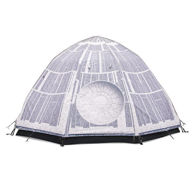 史上最霸氣的露營?!ThinkGeek《星際大戰》死星圓頂帳篷 Death Star Dome Tent 不會隨隨便便就爆炸啦~