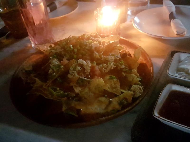 King Taps nachos