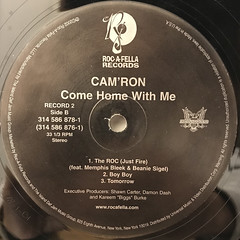 CAM'RON:COME HOME WITH ME(LABEL SIDE-D)