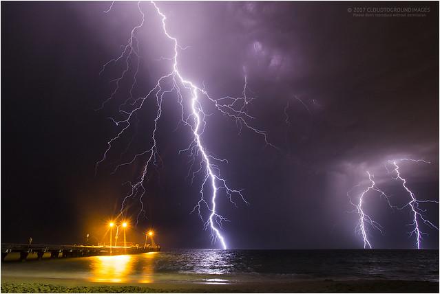 Coogee lightning