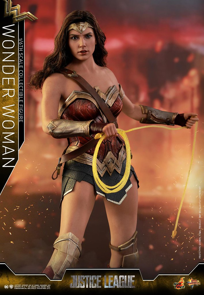 Hot Toys - MMS450 -《正義聯盟》神力女超人 Justice League Wonder Woman 1/6 比例可動人偶作品