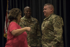 SFC Darnell Promotion to Master Sergeant