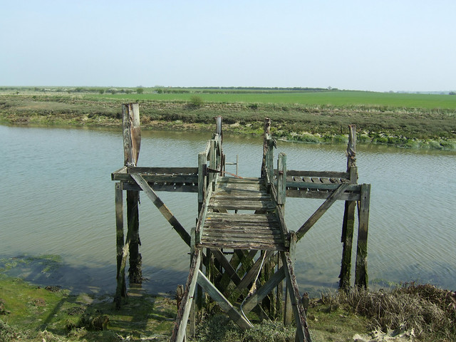 Disused jetty on Mayland Creek
