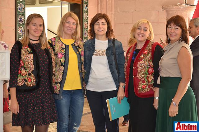 Anna Şimşek, Natalya Erkek, Nimet Bolat, Natalya Koşun, Marina Matienko