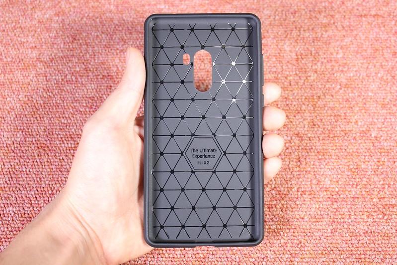 Xiaomi Mi Mix 2 の保護ガラスを貼る (9)