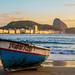 Barco em Copacabana