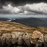 29. Aprill 2017 - 9:24 - on the way up to helvellyn looking back to ullswater,lake district uk